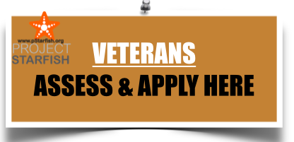VETERANS : PLEASE APPLY FOR ASSESSMENT FOR INTERNSHIP